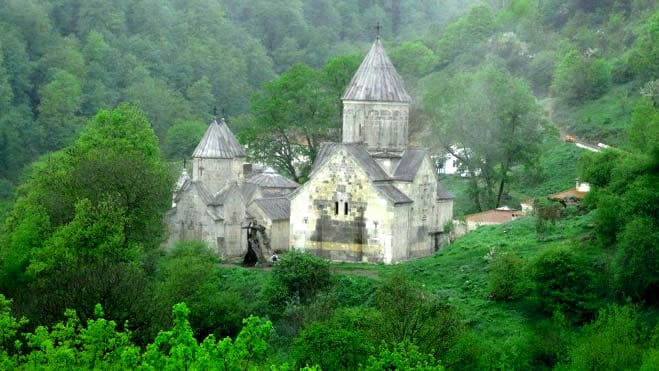 Haghardzin Monastery 10th C. in Dilijan by the Bagratuni Dinasty