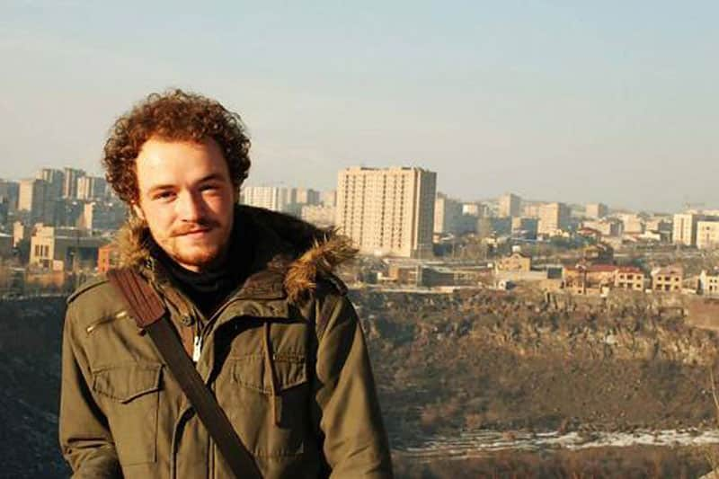 Slovakian student's experience in Armenia - European Voluntary Service program. 1