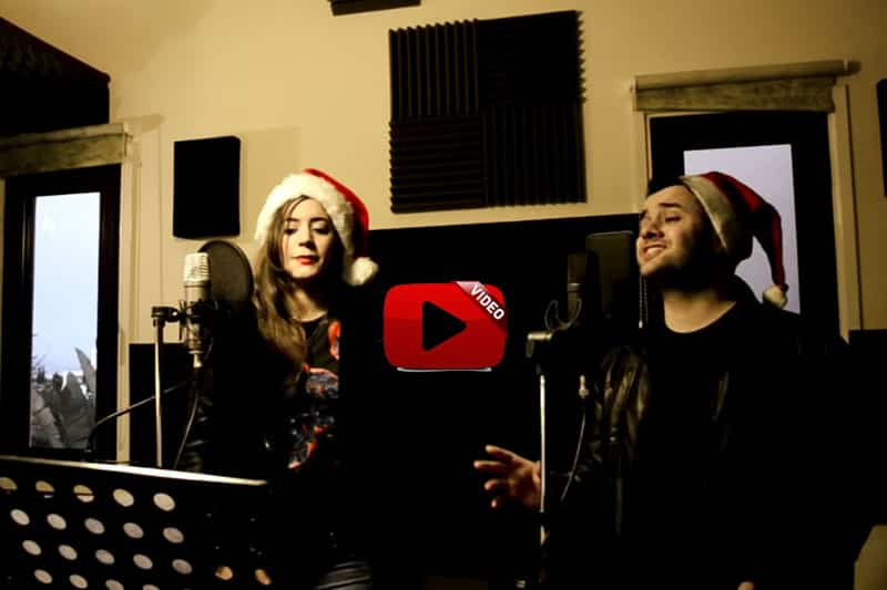 Gore Melian & Natalie Papatheodoulou  - The Prayer (Christmas Cover) 1