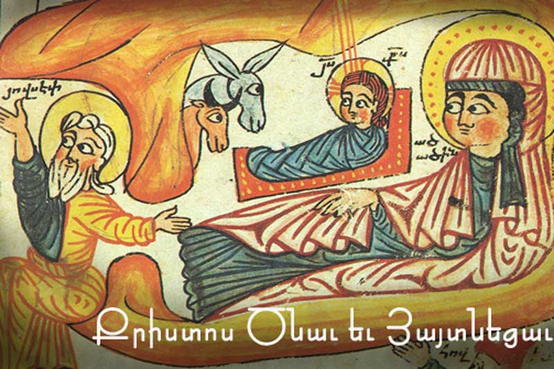 Christmas the Armenian way 6th of January 1