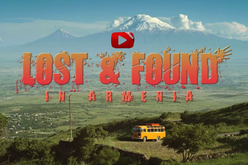 (Watch full movie) Angela Sarafyan in the movie: Lost and Found in Armenia