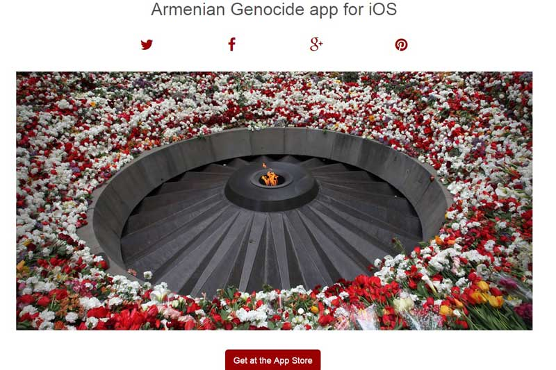 Get The Armenian Genocide Application for Your Mobile 1