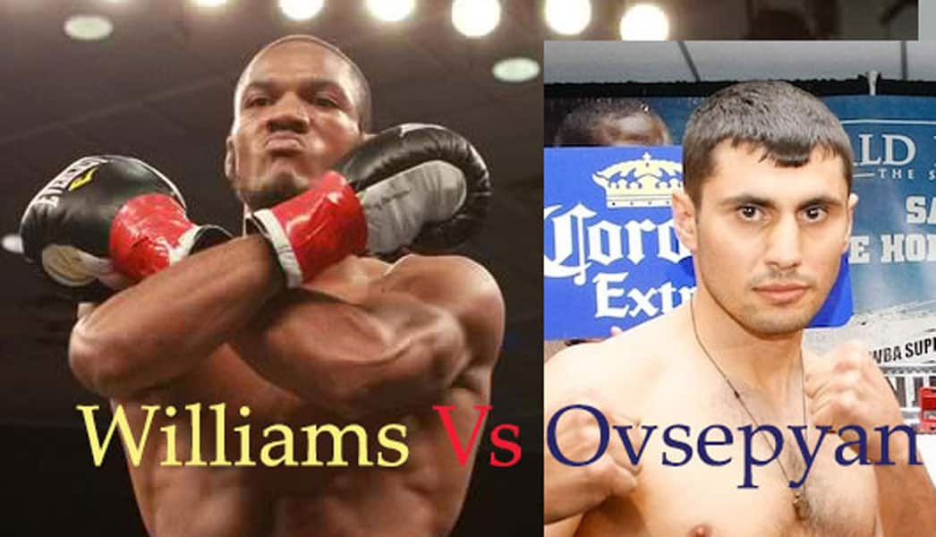 Boxing match Williams Ovsepyan