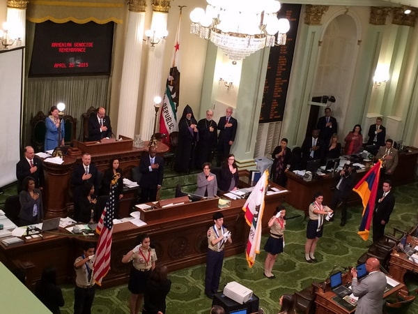 California State Assembly Genocide Commemoration