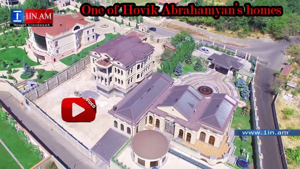 One of Hovik Abrahamyan's homes