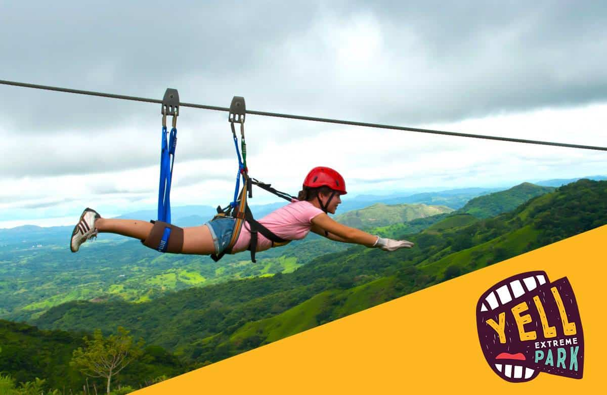Yell Extreme Park / First ZIPLINE in Armenia!