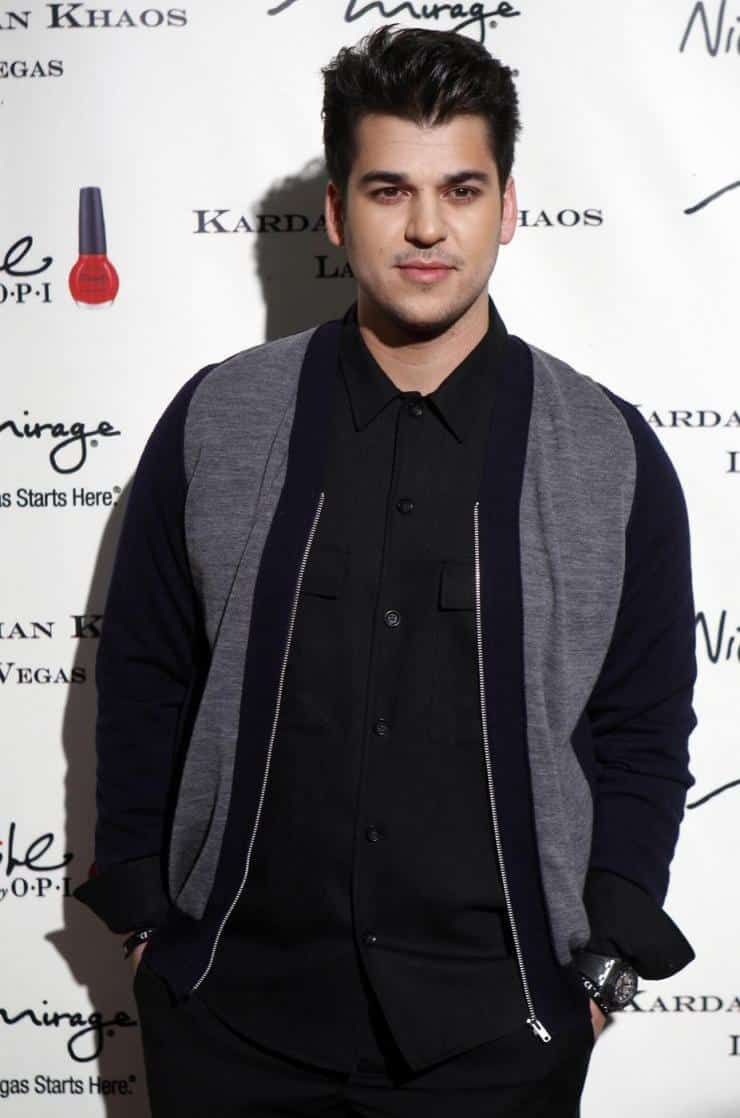 Television personality Rob Kardashian has been staying away from the spotlight in recent years due to weight gain and has reportedly been diagnosed with diabetes. Here, he arrives at the opening of the Kardashian Khaos store at the Mirage Hotel and Casino in Las Vegas, Nevada December 15, 2011. Reuters/Steve Marcus/Las Vegas