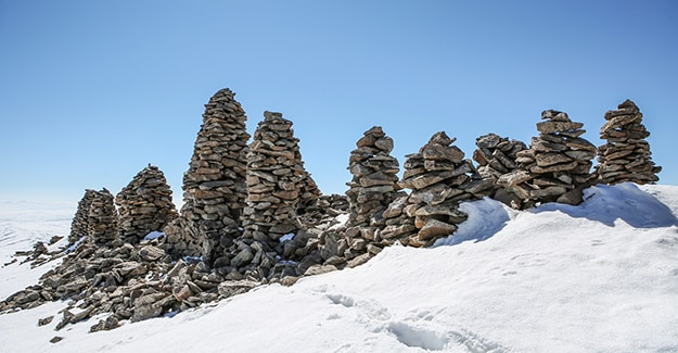 Van, Western Armenia - Castle-like structure discovered on hill