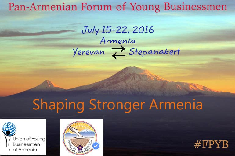 The first Pan-Armenian Forum of Young Businessmen 1