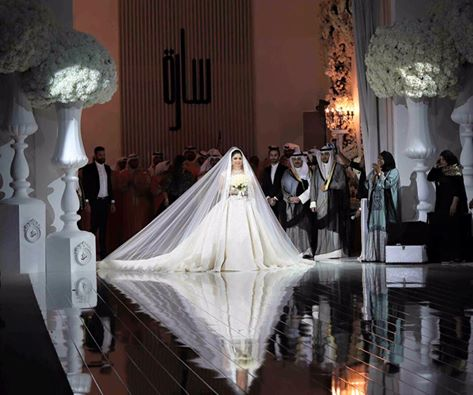 Sheikha Sarah Al Sabah dressed by Krikor Jabotian