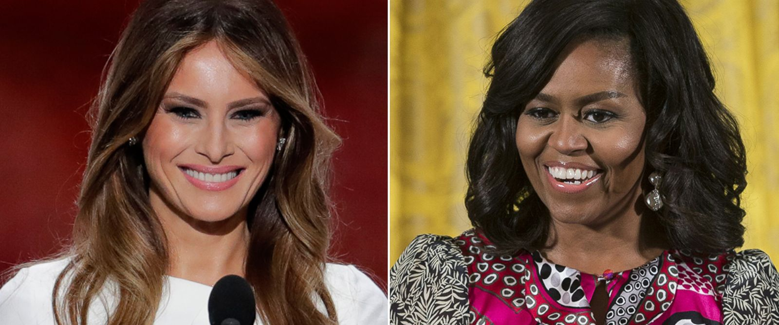 Melania Vs Michelle