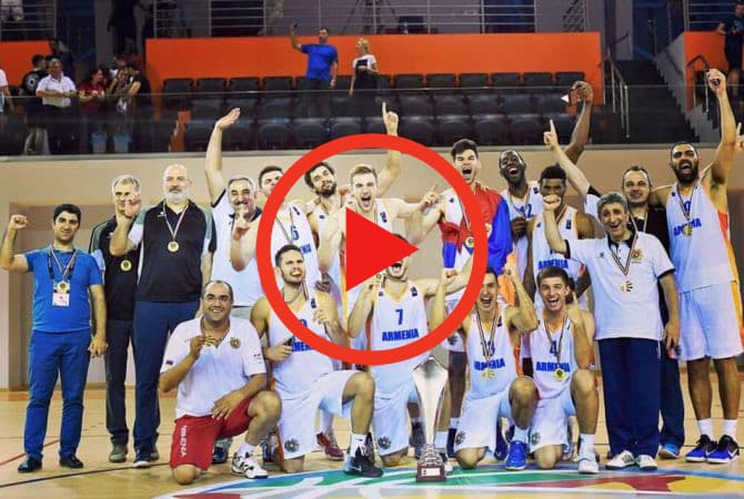The Armenian National Basketball Team
