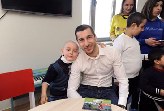 Henrikh Mkhitaryan: A Child's Smile Can Really Light Up The World