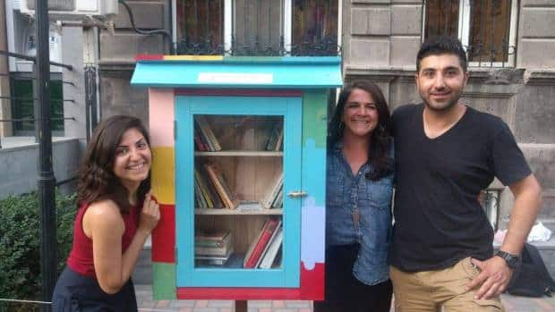 Little Free Libraries in Armenia and Artsakh!