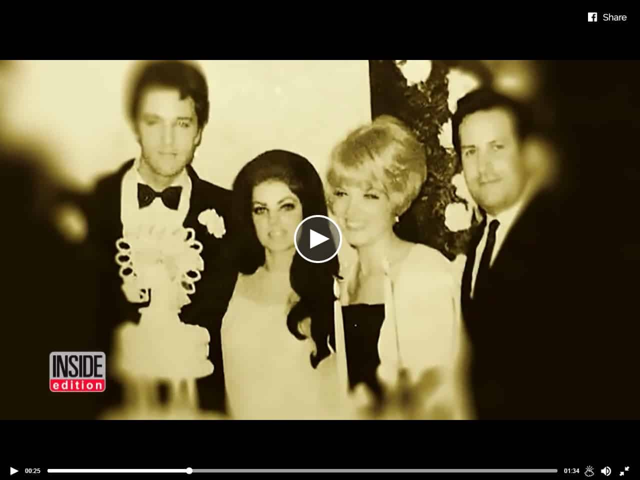 Joan Kardashian At ELvis Wedding
