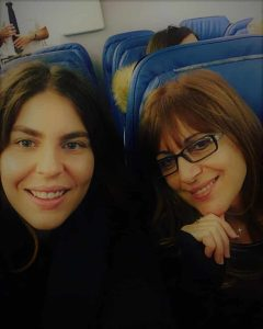 Maria Moskofian And her Mother Silva Makamian