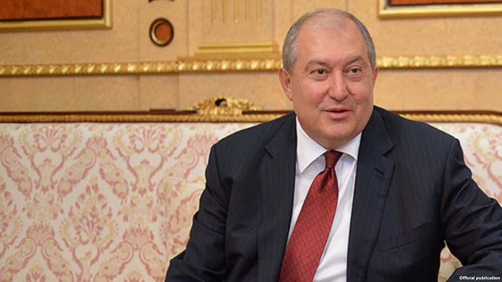 Armen Sarkisian Elected 4th Armenian President