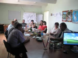 Lukashin agricultural Association supports Greening in Armenia