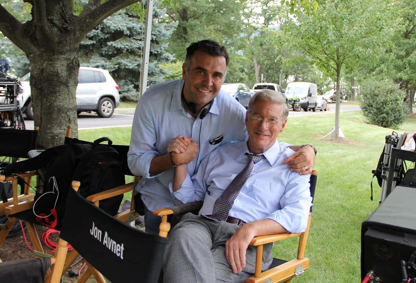 Eric Nazarian with Richard Gere