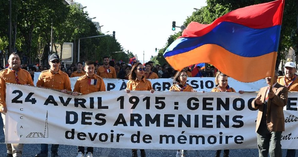 French Armenians on April 24